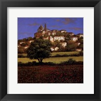 Hillside Down Framed Print