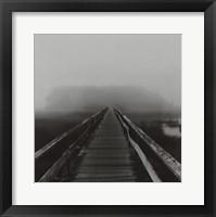 Framed Misty Walk, Cape Cod