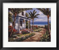 Summer House I Framed Print