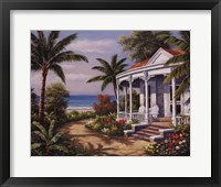 Summer House II Framed Print