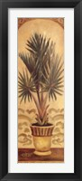 Framed Tuscan Palm II