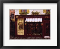 Framed Oldest Wine Store