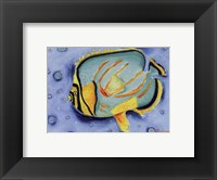 Clown Butterfly Framed Print