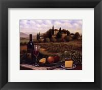 Terrace At Chianti Framed Print