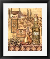 Flavors Of Tuscany I Framed Print