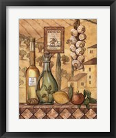 Flavors Of Tuscany IV Framed Print