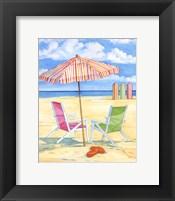 Oceanside III - Mini Framed Print