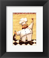 Le Chef Et Le Vin - Mini Framed Print