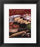 Framed Lasagna