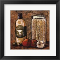 Rustic Kitchen I Framed Print