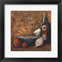 Rustic Kitchen II Framed Print