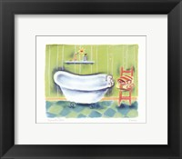 Framed Tub With Chair
