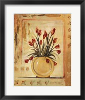 Yellow Vase Framed Print