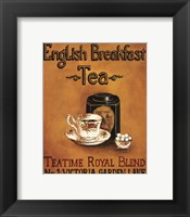 English Breakfast - Mini Framed Print