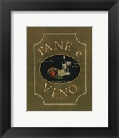 Pane E Vino - Mini Framed Print