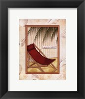 Parasol Club IV Framed Print