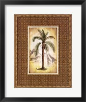 South Palm IV Framed Print
