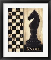 Classic Knight Framed Print