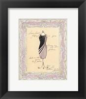 Framed Dress Form I