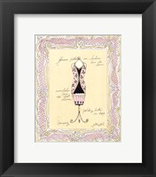 Dress Form III Framed Print