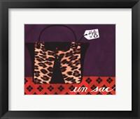 Framed Leopard Handbag IV