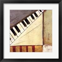 Music Notes I Framed Print