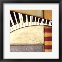 Music Notes II Framed Print