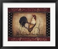 Framed Cock-A-Doodle-Doo