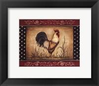 Framed Cock-A-Doodle-Doo - Mini