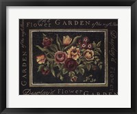 Framed Flower Garden No 34