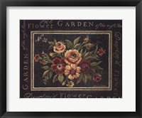 Flower Garden No 35 Framed Print