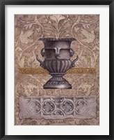 Gothic Quatrefoil 1 Framed Print