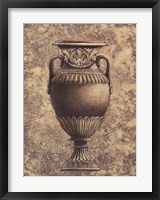 Framed Classical Urn Series #1-a