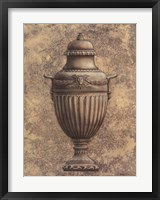 Framed Classical Urn Series #1-B