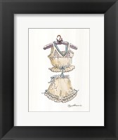 Framed Lavender and Lace