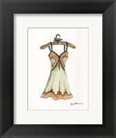 Framed Silk and Lace