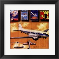 Skyliner Framed Print
