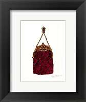 Ballroom Dancing Purse Framed Print