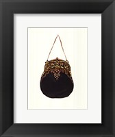 Beaded Purse Framed Print