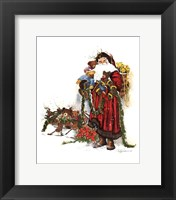 Armful Of Love Framed Print