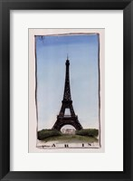 Framed World Landmark Paris