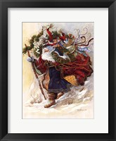 Windswept Journey Framed Print