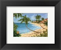 Framed Palm Beach Garden II