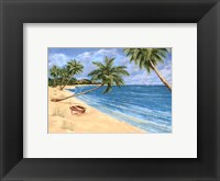 Framed Palm Beach Garden I