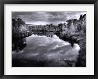 Framed Yampa River Idyll