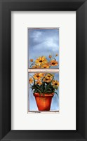 Antique Window II Framed Print
