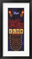 Framed Kon Tiki Club