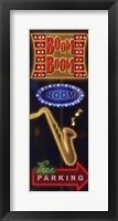 Boom Boom Room Framed Print