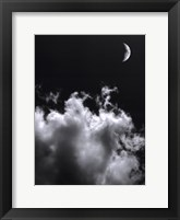 Aspects Of The Moon II Framed Print