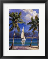 Framed Island Breeze